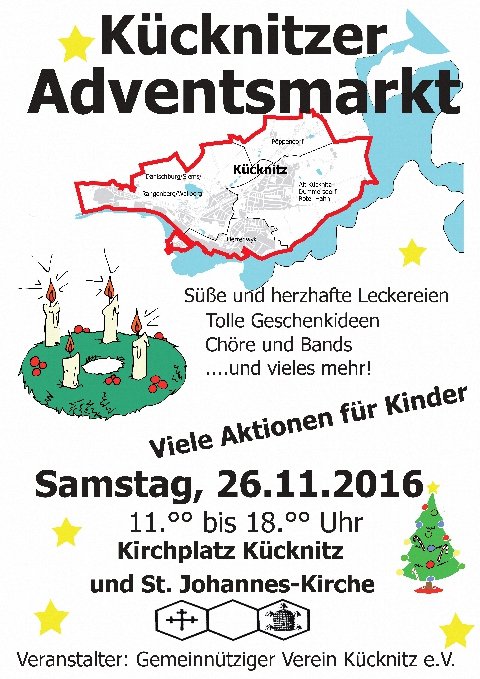 2016 Adventsmarkt Plakat